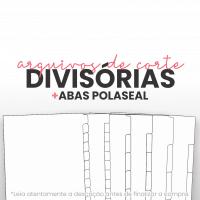 Arquivo de Corte para Divisórias e Abas Polaseal | A5