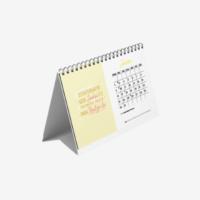 Calendário de Mesa 2022 – Letterings