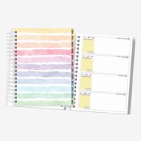 Planner 2022 Colorido Horizontal
