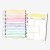 Planner Colorido | Datado 2022 | Layout Vertical